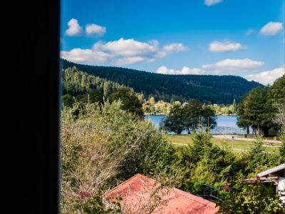 Hôtel vue Lac longemer