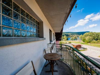 Hôtel vue sur le lac